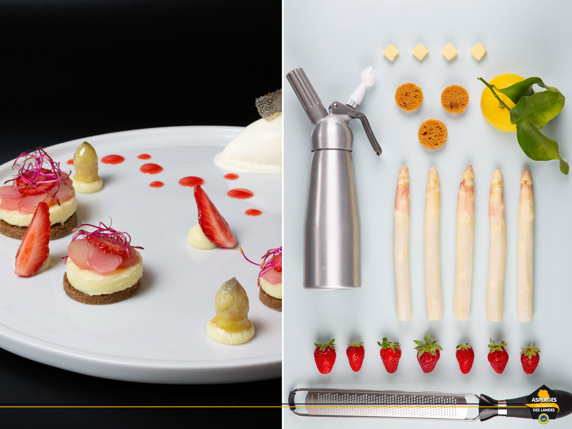 Recette Asperge des Sables des Landes version dessert